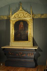 objawienie Matki Bożej - obraz z XVIII wieku