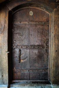 drzwi zakrystii