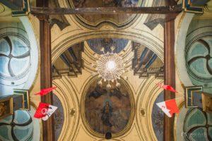 polichromia na stropie
