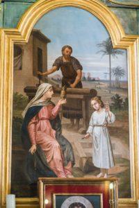 obraz św. Rodziny w północnym ołtarzu bocznym